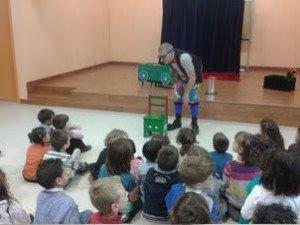 L'espectacle en anglès Ruskus' Little Train