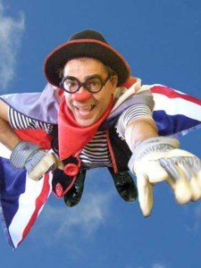 L'espectacle en anglès The Great Circusman