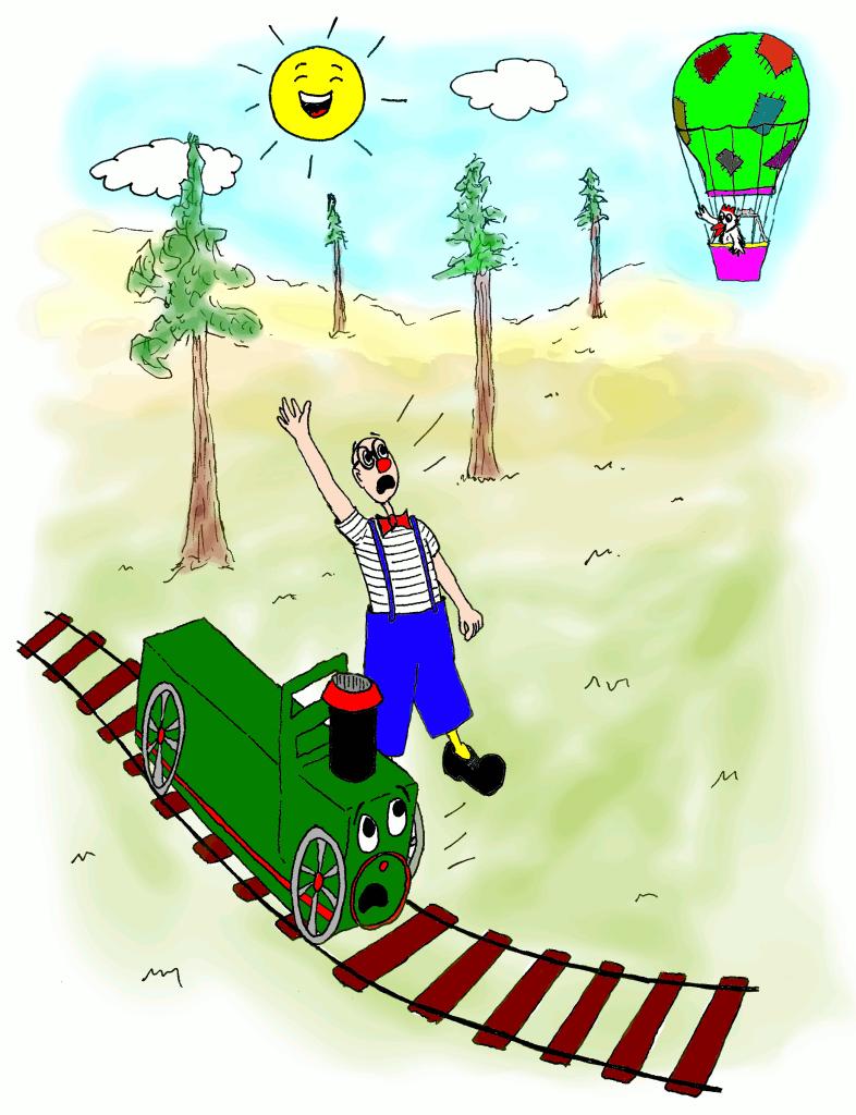 En Ruskus i el Trenet Xumet criden en Pipo