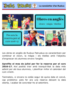 Ruskus' Newsletter