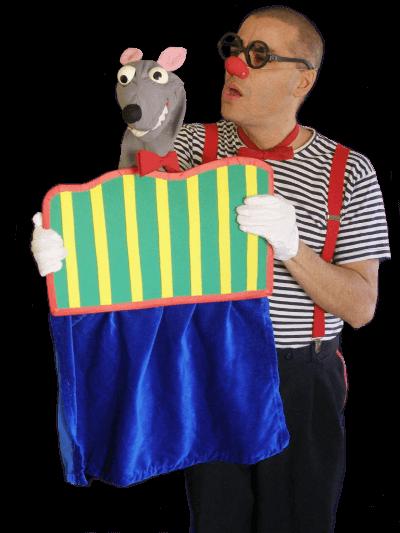 Representació de teatre online amb en Ruskus