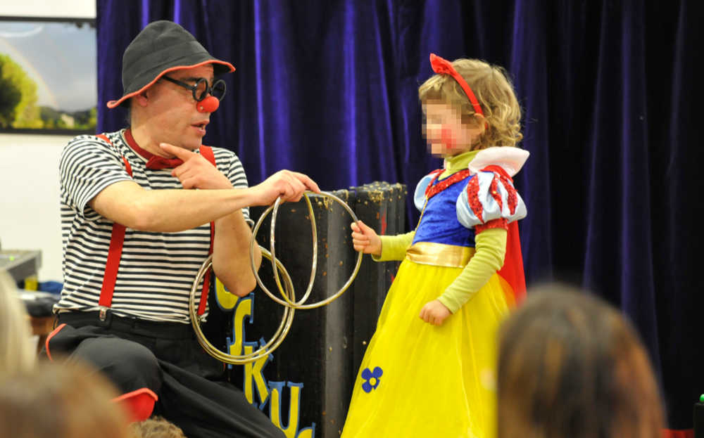 Animació d'una festa infantil amb màgia i pallassos