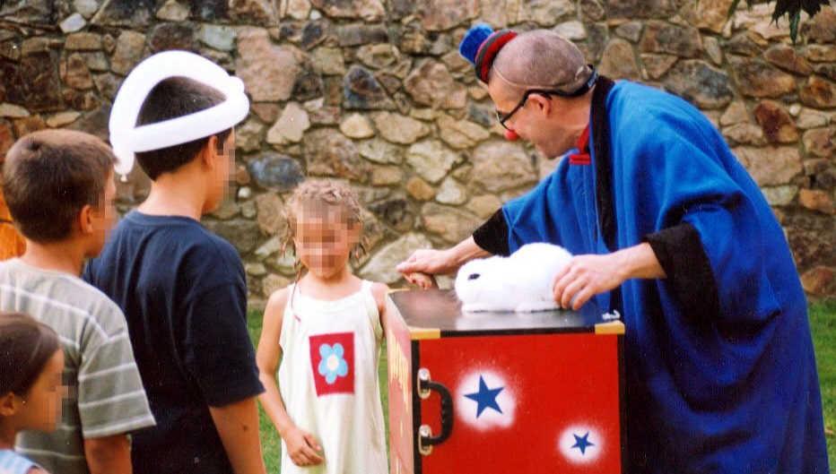 Animació infantil per a nens i nenes a un bateig