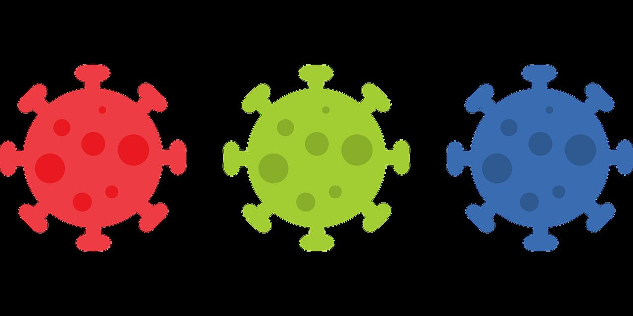 Dibuix del virus de la Covid-19